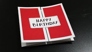 How to make Birthday Card for Husband - Homemade Birthday Cards