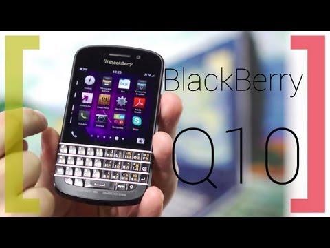 Мобильный телефон BlackBerry Q10 (SQN100-3, LTE, black