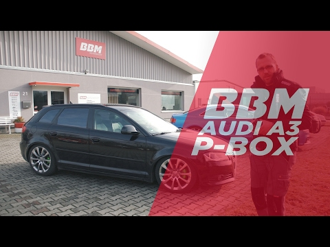 Performance Box Chiptuning mit Björn im Audi A3 2,0 TDI by BBM