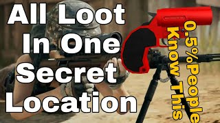 Best Loot (Flare Gun) Location After 0.9.0 Update In PUBG Mobile