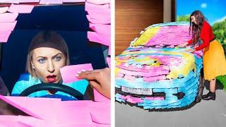 Блондинка vs Брюнетка – Смешные пранки!