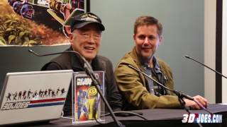 The Larry Hama Interview, by 3DJoes at NC Comicon