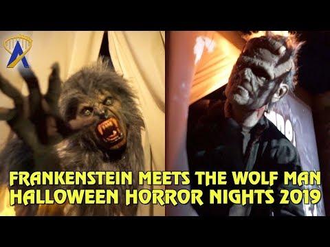 Frankenstein Meets The Wolf Man maze at Halloween Horror Nights Hollywood 2019