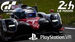 Le Mans on Playstation VR Gran Turismo Sport