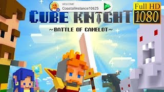 Cube Knight: Battle Of Camelot Game Review 1080P Official Bluehole Casual 2016