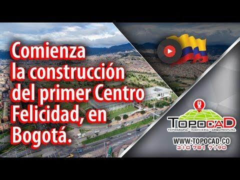 Comienza la construccion del primer Centro Felicidad, en Bogota.