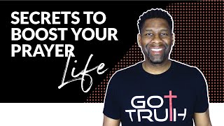 BOOST YOUR PRAYERS   7 Secrets to Boost Your Prayer Life!