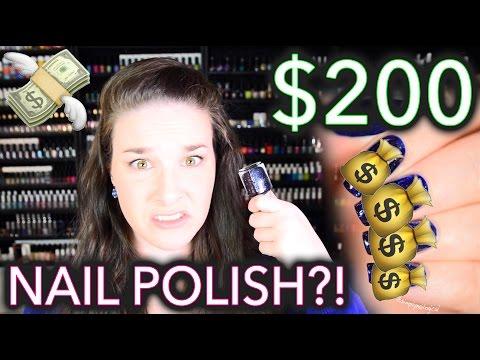 $200 Nail polish?! WTF why