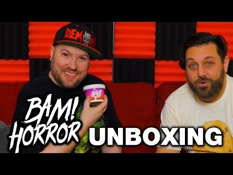 February 2019 Bam Box Horror Unboxing - Horror Subscription Box