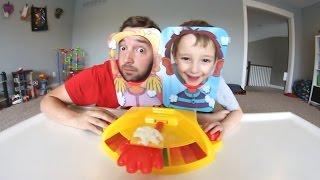 FATHER & SON PLAY PIE FACE SHOWDOWN!