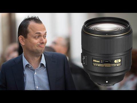 Nikon 105mm f1.4 - Hands on at Photokina
