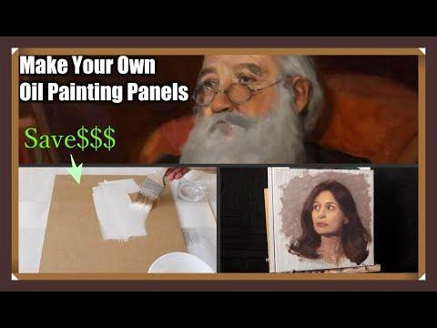 The Daily Yupari | DIY ART PANELS for OIL PAINTING