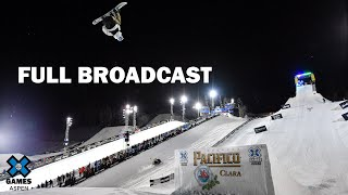 Pacifico Women's Snowboard Big Air: FULL BROADCAST | X Games Aspen 2020