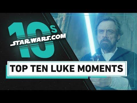 Top 10 Luke Skywalker Moments | The StarWars.com 10