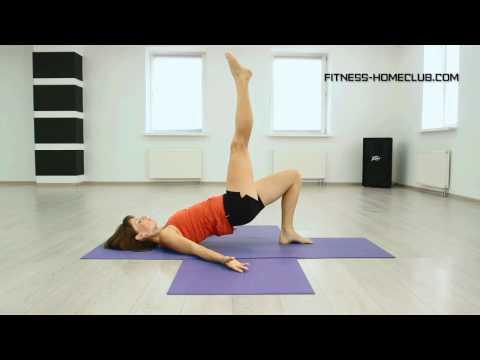 Комплекс упражнений для хорошего самочувствия с Мариной Быковой. Урок 5.