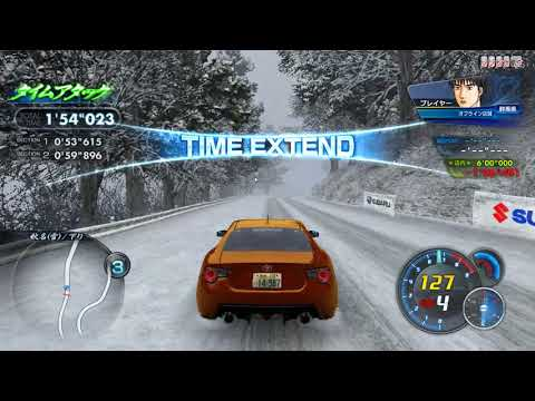 Teknoparrot 1 34] Initial D Arcade stage 7 AAX Akina (Snow