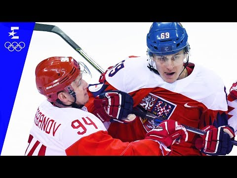 Ice Hockey | OAR v Czech Republic | Men's Semi-Final Highlights | Pyeongchang 2018 | Eurosport