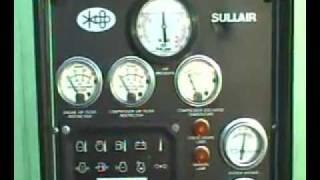 2006 SULLAIR DUAL PRESSURE/DUAL CAPACITY COMBO AIR COMPRESSOR