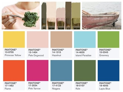 Summer 2017 Color Trends - Top 10 Pantone Colors