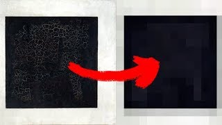 Черный квадрат нарисовали за 300 лет до Малевича