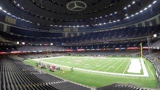 Mercedes-Benz Superdome - One Shot Walk Thru