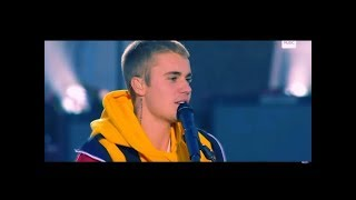 Justin Bieber Emotional (Live) Performance - Love Yourself One Love Manchester Ariana Grande