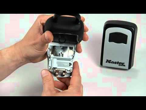 Operating Master Lock Select Access® Key Lock Boxes