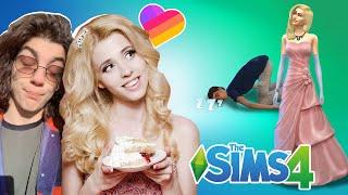 СВАДЬБА Насти Кош! 🐬 Популярные лайкеры в Sims 4 (Симс 4)