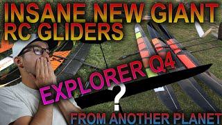 INSANE NEW GIANT RC GLIDERS - EXPLORER Q4 - HIGH PERFORMANCE TOP LEVEL - NAN-Models - F5J