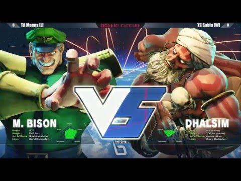 Street Fighter 5 Tournament: Next Level Battle Circuit V.5 - Grand Final - TA Moons vs TS Sabin