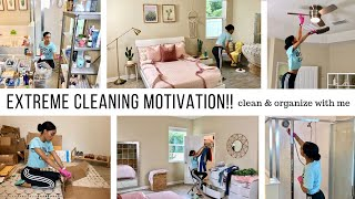 EXTREME CLEANING MOTIVATION!! // CLEAN WITH ME // Jessica Tull cleaning