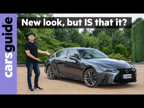 Lexus IS 2021 review: We test the new look rival to the Audi A4, BMW 3 Series and Mercedes C-Class!