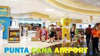 Punta Cana AIRPORT in Dominican Republic