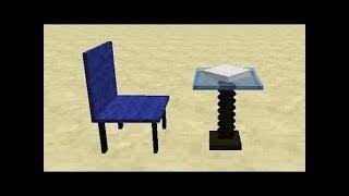 майнкрафт билдбатл строим стул!!!