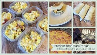 Breakfast Freezer Meals