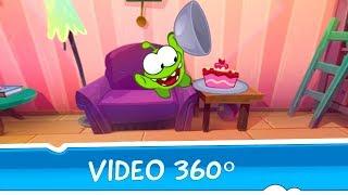 VIDEO 360º - Om Nom convidado especial