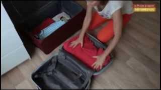 Смотреть онлайн Как собрать вещи в чемодан. Правильная упаковка