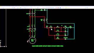 Bài 1 - Hướng dẫn chi tiết dễ hiểu mạch mở máy động cơ 3 pha