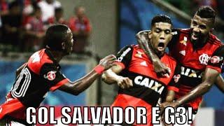 Zé continua teimoso! Berrío salva a noite! Arão e M. Sávio os piores! Flamengo no G4 jogando mal!