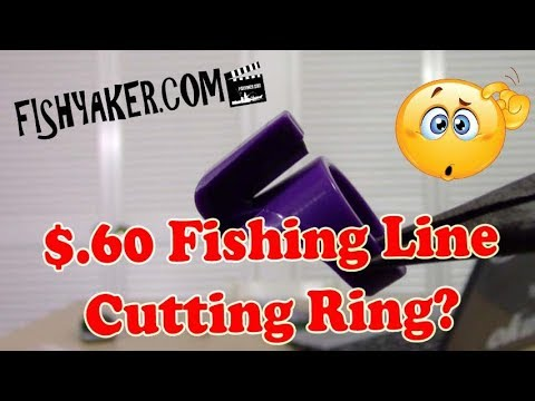 $.60 Fishing Line Cutting Ring – REVIEW
