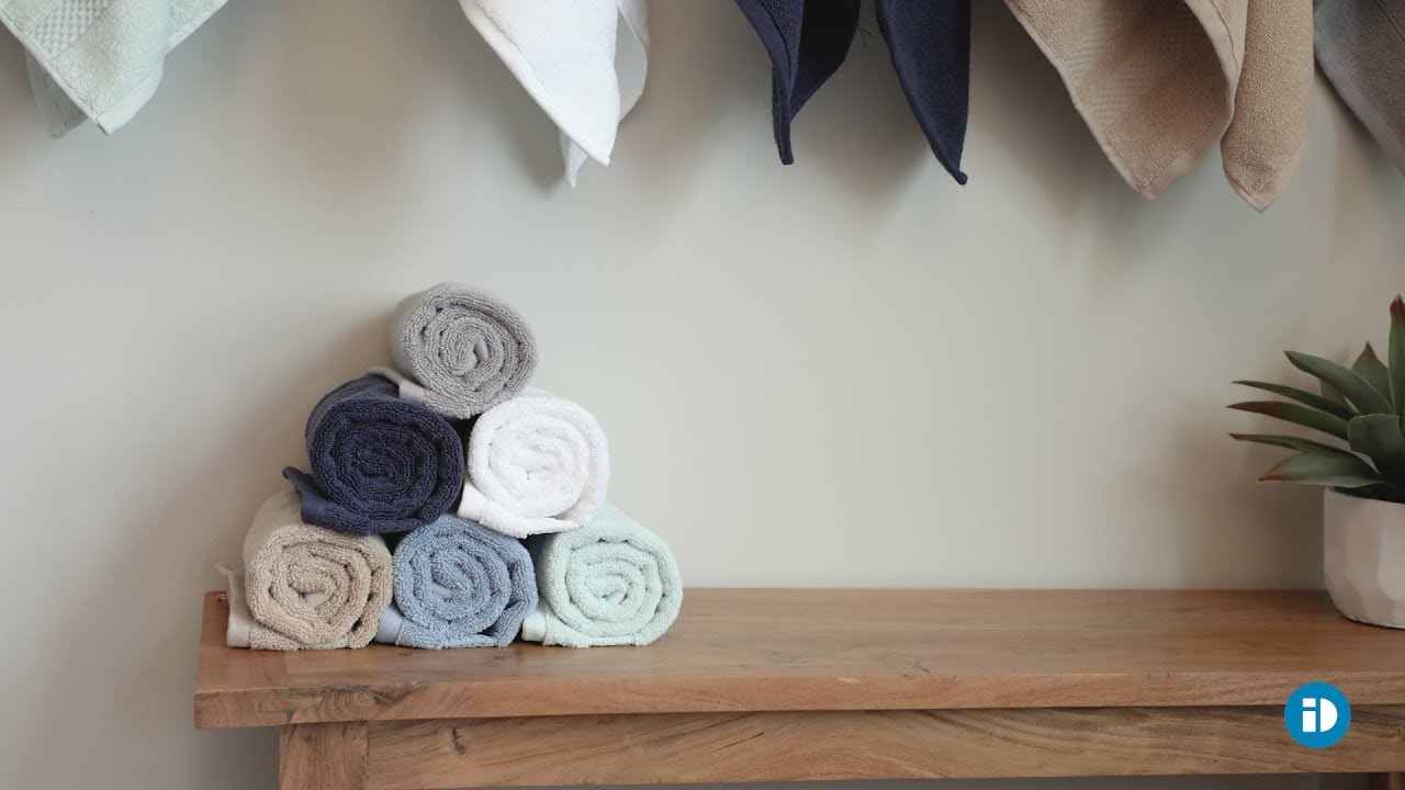 SPA TOWELS from iDesign