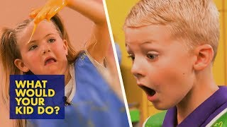 GIANT Slime Making Machine Gone Wrong | What Would Your Kid Do?
