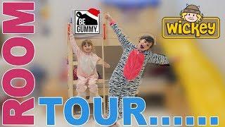 ROOM TOUR • LA NOUVELLE CHAMBRE DE KALYS & ATHENA !! - Studio Bubble Tea Wickey Crazy Circus