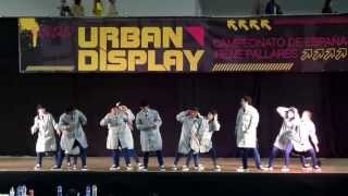 CAMPEONATO URBAN DISPLAY 2013 (GRUPO THAT´S SOUL)