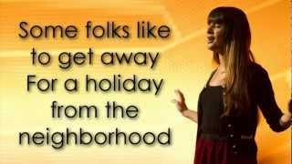 "Video thumbnail of ""Glee - New York State of Mind (Lyrics)"""