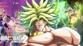 LEGENDARY SUPER SAIYAN! Playing As Broly In Dragon Ball Xenoverse 2!