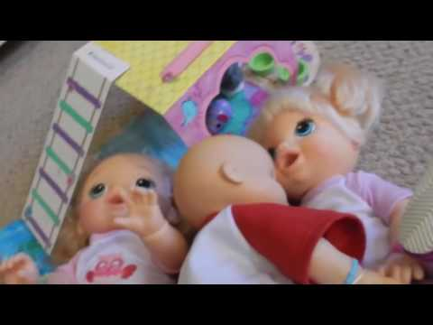 BAD BABY ALIVE! Liam Is Very Bad & Has A Tantrum With Kelli Maple