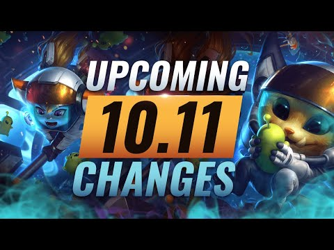 MASSIVE CHANGES: New Buffs & REWORKS Coming in Patch 10.11 - League of Legends