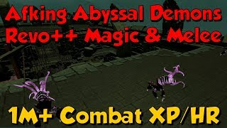 loot from 60 000 abyssal demons runescape 3 easy afk money xp