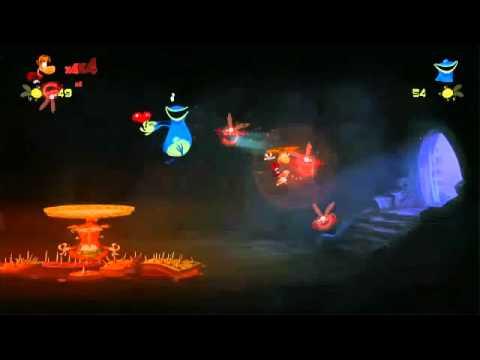 Rayman Origins E3 2011 Gameplay Demo Video